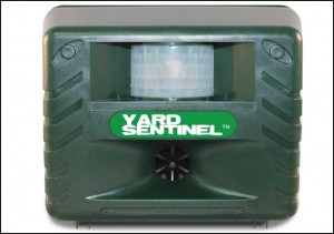 Yard Sentinel – Electronic Pest & Animal Control Repeller with Motion Sensor